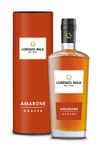 Grappa Amarone Lorenzo Inga 0,5 L 40% Vol