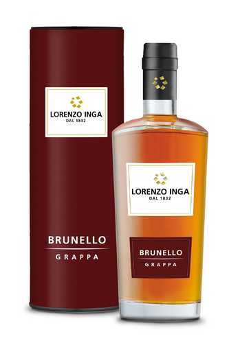 Grappa Brunello Lorenzo Inga 0,5 L 40% Vol