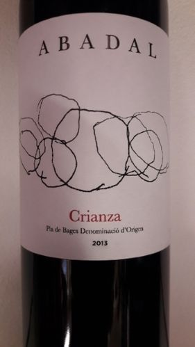 Crianza Pla de Bages DO Abadal 2013