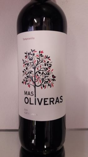 Tempranillo Catalunya DO Mas Oliveras