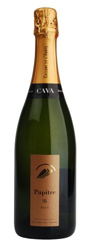 Pupitre Brut Cava DO L Arboc - Flaschengärung