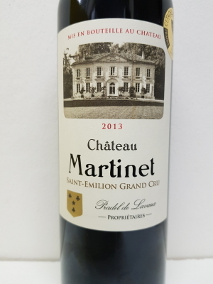 Saint-Emilion Grand Cru Chateau Martinet