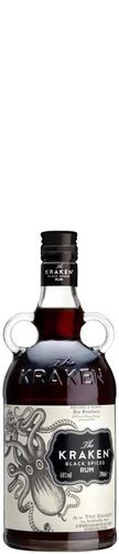 The Kraken Black Spiced Rum 70 cl 40% Vol.