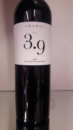 3.9 Pla de Bages DO Abadal 2009