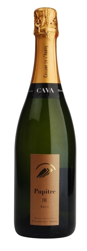 Pupitre Brut Cava DO Cellers de L Arboc